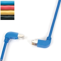 SpaceGAIN CAT5e UTP 90° angled cables