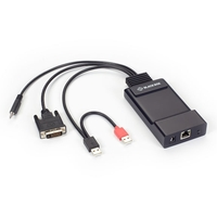 EMD200DV-T: (1) Single-Link DVI, V-USB,Audio, Sender