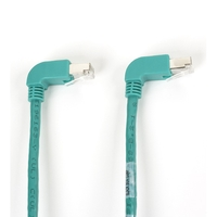 SpaceGAIN CAT6 S/FTP Angled Patch Cable