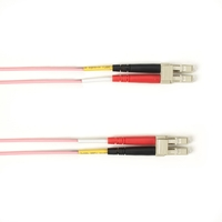 Colored 10-Gigabit Multimode laser-optimized Patch Cable, PVC