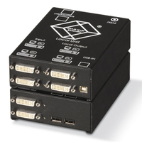 ACS4022A-R2-SM: (1) Single link DVI-D, USB HID, Audio, RS-232