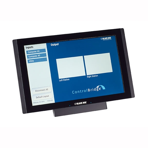 CB-TOUCH12-T, ControlBridge Touchpanel - Black Box