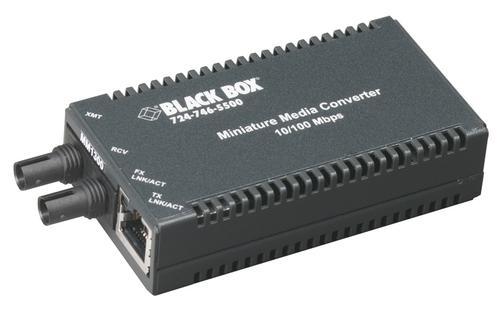 Black Box RJ45 2-to-1 CAT5 Ethernet 10-Mbps Manual Desktop Switch
