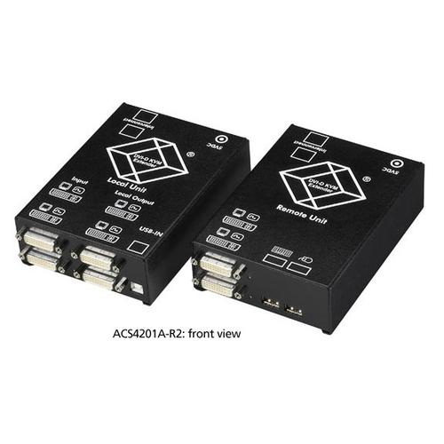 ACS4001A-R2, CATx KVM Extender – DVI-D, USB HID, audio