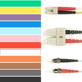Coloured Multimode OM2 Patch Cable - LSZH Duplex