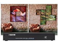 Individually Shaped Video Wall Designs: VideoPlex4000