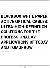 Active Optical Cables – Whitepaper