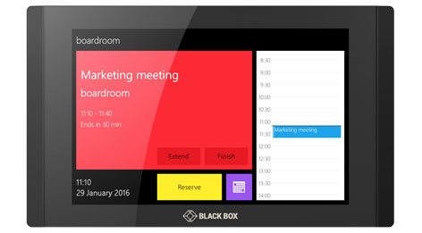 IN-SESSION meeting room booking system