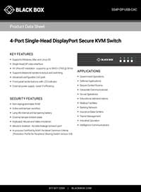 Datenblatter Secure KVM Switches